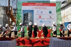 Hòa Bình khởi công dự án C.T Plaza Lê Văn Sỹ
