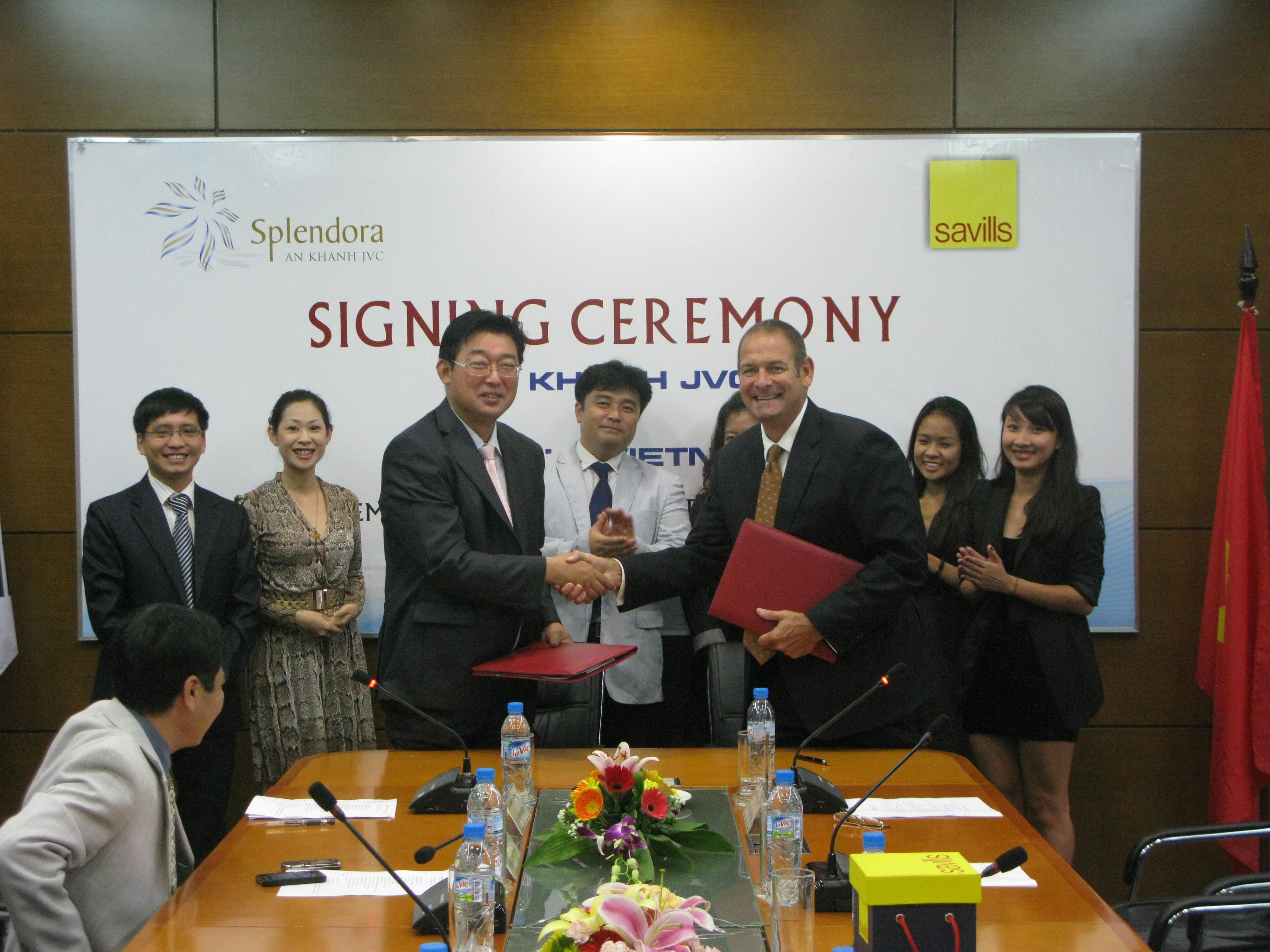 Savills ký hợp đồng tư vấn quản lý khu đô thị Splendora