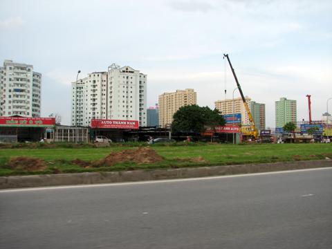 Căn hộ dịch vụ phía Tây Hà Nội hút khách