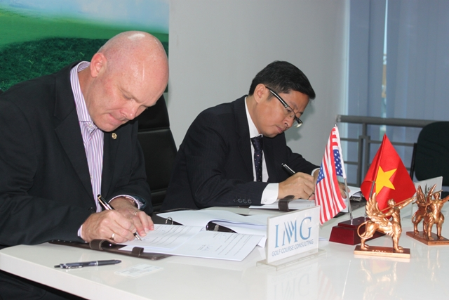C.T Group hợp tác với IMG Golf về chiến lược phát triển Sân golf Nhân Sư