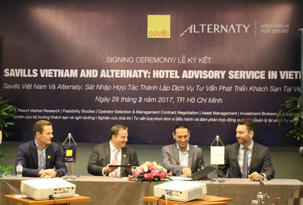 Công ty tư vấn dịch vụ khách sạn Alternaty sáp nhập vào Savills