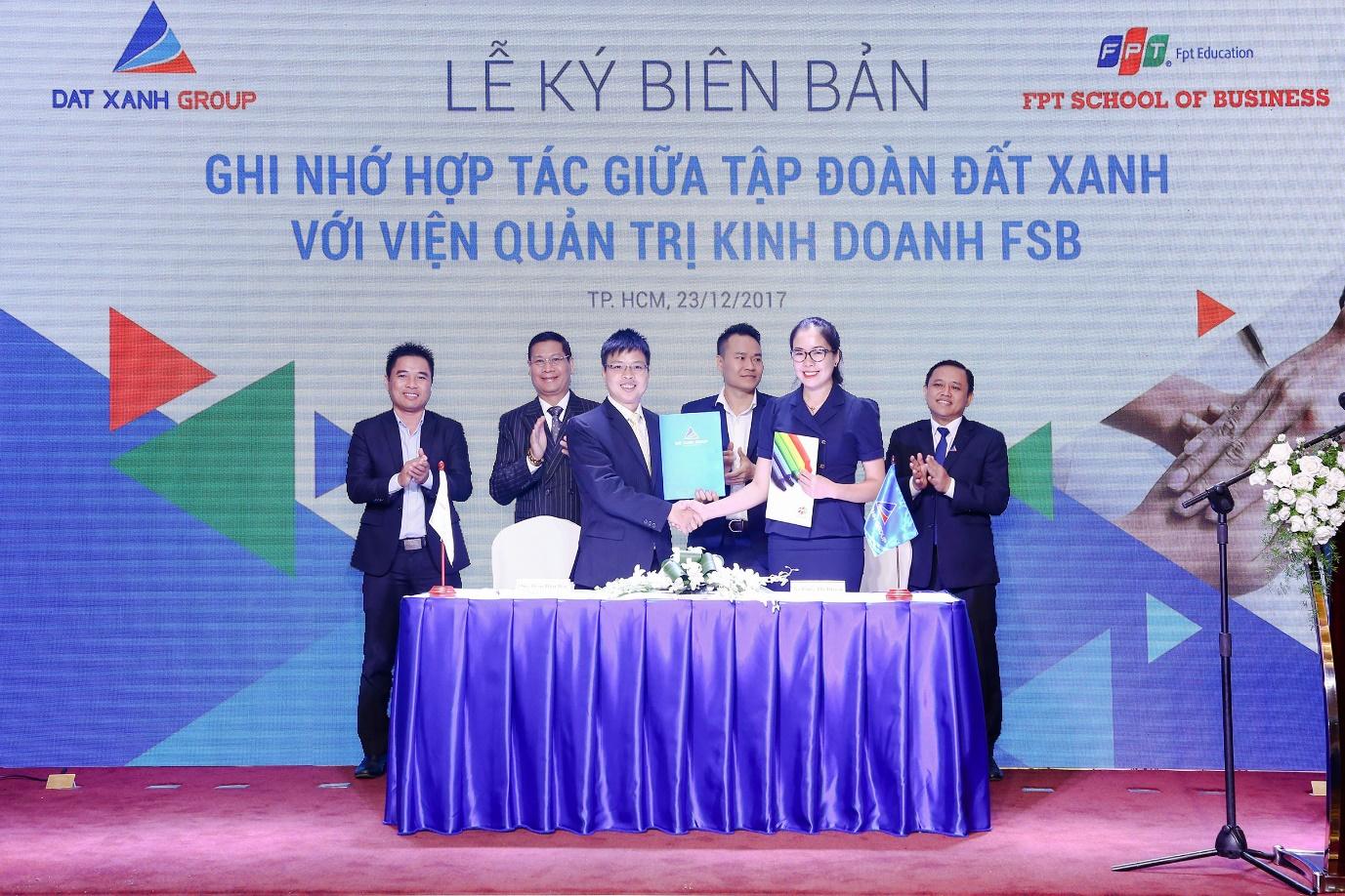 Đất Xanh 'bắt tay' FPT đào tạo tài năng trẻ
