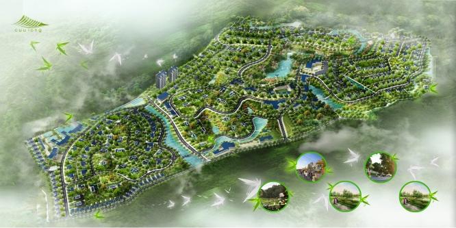 kdtcuulongtongthe 1338914331 Tổng quan và quy mô khu đô thị sinh thái và dịch vụ Cửu Long
