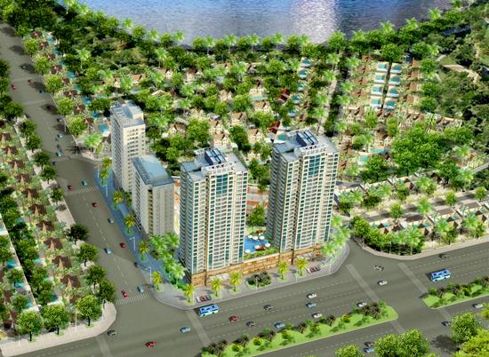 tay ho residence 1339693151 Tổng quan và quy mô Tay Ho Residence: Căn hộ cao cấp cạnh Hồ Tây