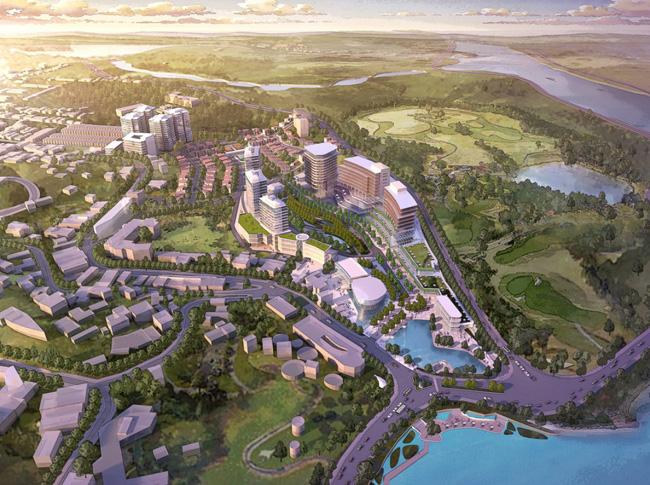 golfvalley 1341588464 Tổng quan và quy mô Golf Valley: Khu công viên văn hóa đô thị thành phố Đà Lạt