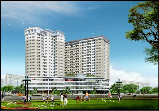 cheery3jpg 1345129815 Tổng quan và quy mô khu căn hộ thương mại Cheery 3 Apartment