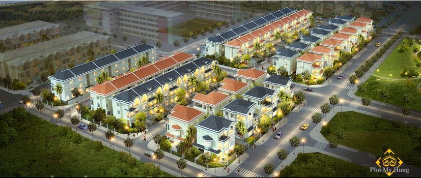khu biet thu my phu 3jpg 1347635209 Tổng quan và quy mô khu biệt thự Mỹ Phú 3: Khu biệt thự sinh thái tại Phú Mỹ Hưng