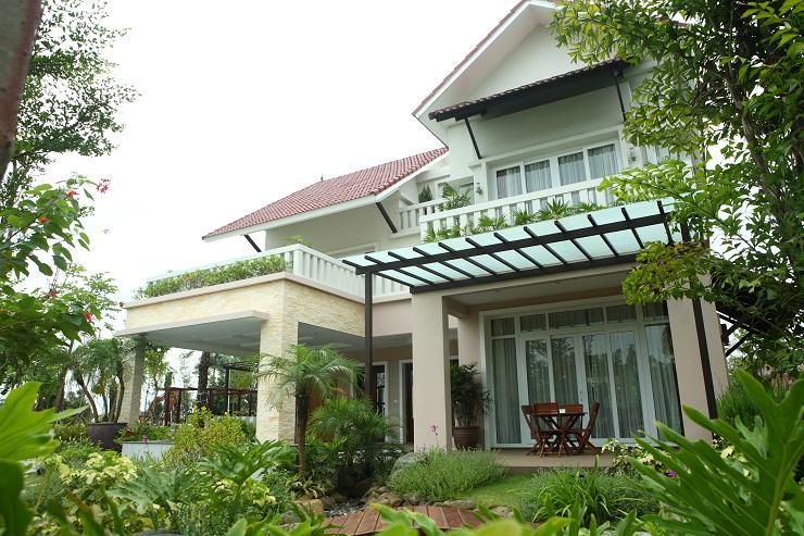 biethuxanhvilajpg 1349953133 Tổng quan và quy mô khu Xanh Villas   Vẻ đẹp tinh tế