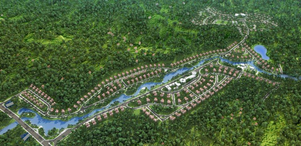 xanhvillastongthe 1349953080 Tổng quan và quy mô khu Xanh Villas   Vẻ đẹp tinh tế