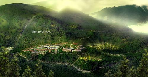 mercure spa 1352390947 Tổng quan và quy mô khu nghỉ dưỡng Mercure Sapa Resort & Spa