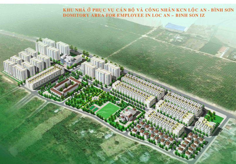 Đồng Nai: Duyệt quy hoạch 1/500 Khu nhà ở Lộc An – Bình Sơn