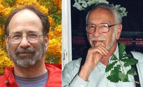 Hai tác giả đoạt giải Nobel Kinh tế 2012.