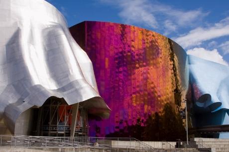 Bảo tàng âm nhạc tại Seattle, Mỹ đang trong quá trình hoàn thành