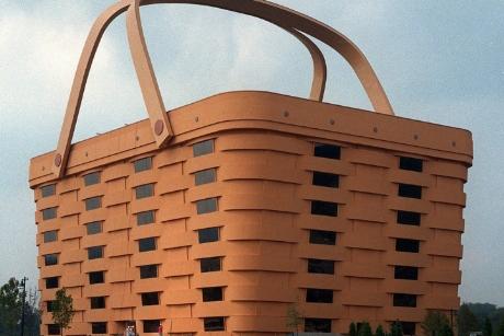 Bạn có đủ lớn để xách chiếc túi khổng lồ này? Đât là một tòa nhà tại bang Ohio, Mỹ có hình thù rất đặc biệt khiến nhiều người phải đứng lại ngắm nhìn