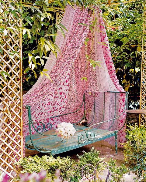 Làm điệu không gian ngoại thất với rèm - Archi