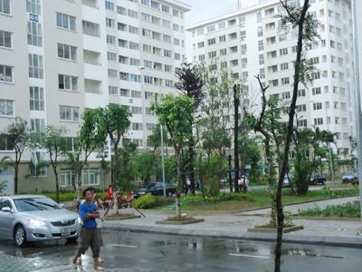 Nhà thu nhập thấp Đặng Xá (Gia Lâm) dù bị ế vẫn không giảm giá