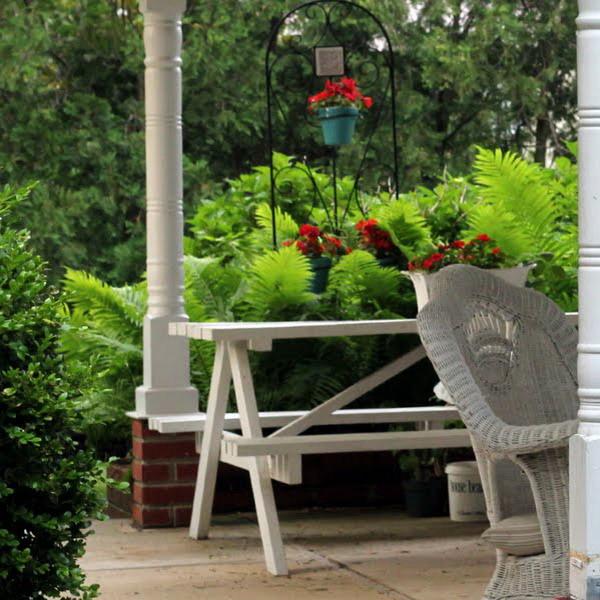 Góc sum họp lý tưởng trong vườn nhà