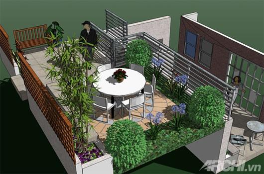 5 lời khuyên hữu ích khi trồng vườn trên sân thượng