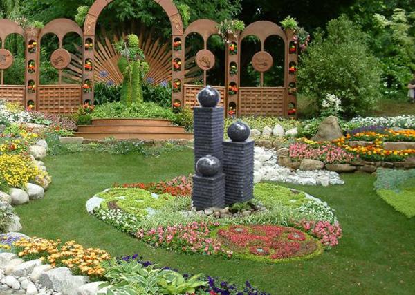Bố trí góc thư giãn tuyệt vời trong nhà vườn