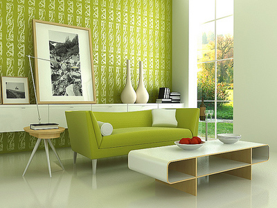 mau xanh 4 1340372969 Tìm hiểu những lợi ích của màu xanh lá cây trong phong thủy