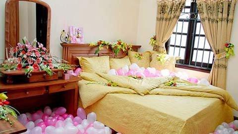 phong cuoi 2 1340207396 Phòng cưới nhỏ vẫn đẹp long lanh nhờ bí quyết phong thủy này!