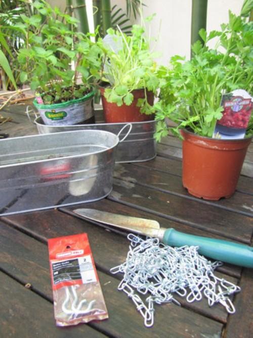 Tự tạo vườn treo xanh mát trước nhà -