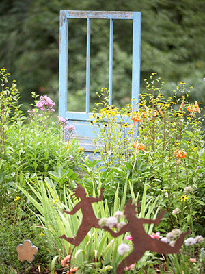 Bí quyết giản đơn tạo nét riêng cho khu vườn