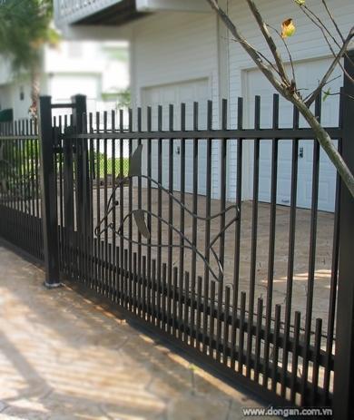 Các kiểu hàng rào cho nhà ống