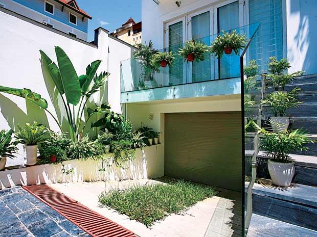Cân đối nhà – sân – vườn trong ngôi nhà hiện đại