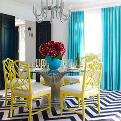 Cách phối màu lạ mà đẹp cho nhà bạn