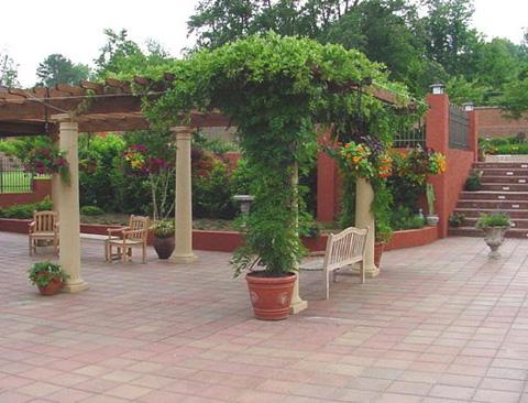 Đa dạng trang trí patio