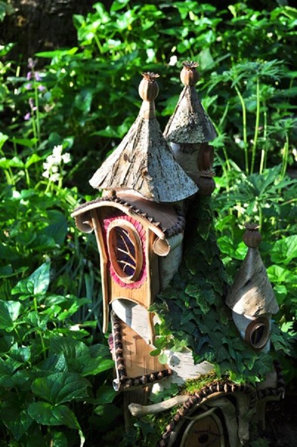 Nét chấm phá cổ tích trong vườn nhà