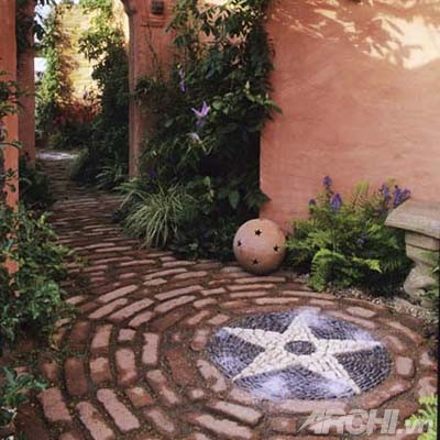 Trang trí sân vườn đẹp theo phong cách mosaic - Archi