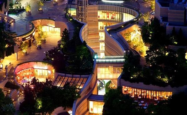 Công viên trên... nóc nhà siêu kinh ngạc ở Nhật Bản 5